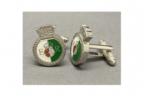 HMS Queen Elizabeth Cufflinks